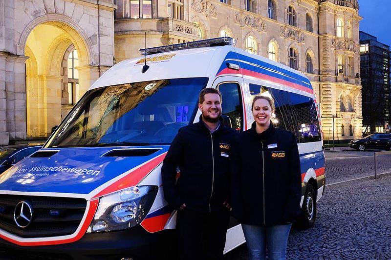 Der Wünschewagen in Hannover
